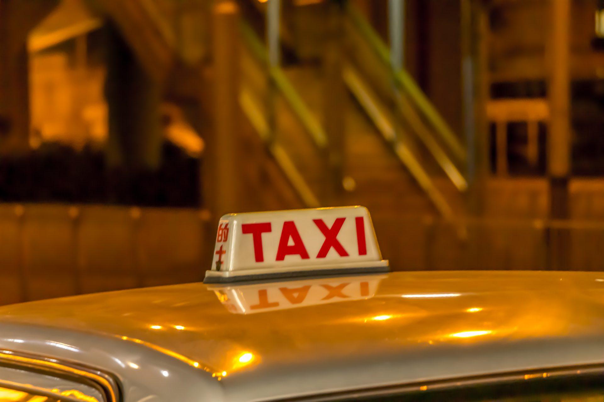 タクシー行灯